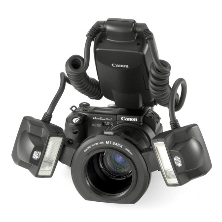 Canon MT-24EX Macro Twin Lite - blitz macro TTL