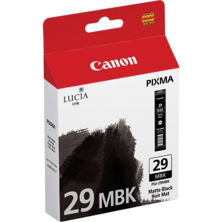Canon PGI-29MBK Negru Mat - cartus imprimanta Canon Pixma PRO-1
