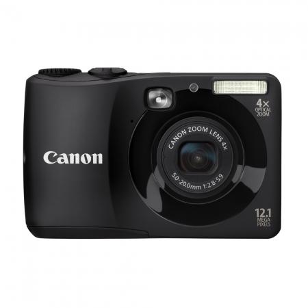 Canon Powershot A1200 negru - 12 MP, zoom optic 4 x, LCD 2.75