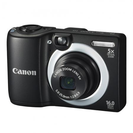 Alegerea echipamentului fotografic, în funcție de buget și necesități. Episodul 1. Aparate compacte Canon-powershot-a1400-negru-25093