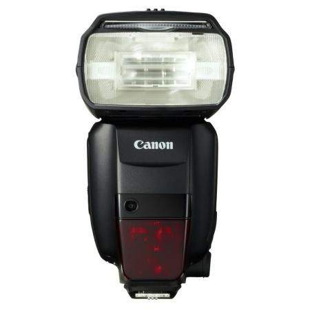 Canon Speedlite 600EX - blitz E-TTL, declansare wireless infrarosu