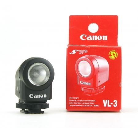 Canon VL-3 - lampa video de camera cu bec de 3.5W