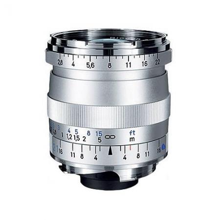 Carl Zeiss Biogon T* 21mm f/2.8 ZM (baioneta Leica M, argintiu)