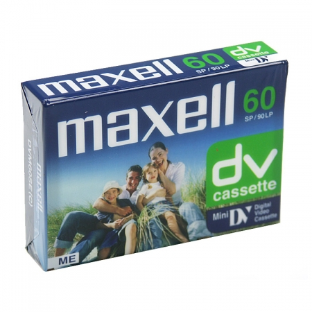 Caseta MiniDV 60min Maxell DVM60SE.