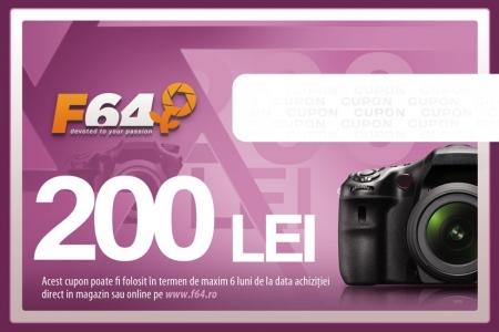 Cupon CADOU F64 - in valoare de 200 RON