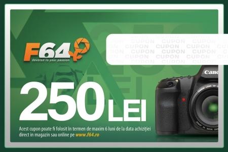 Cupon CADOU F64 - in valoare de 250 RON