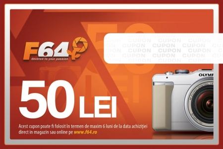 Cupon CADOU F64 - in valoare de 50 Lei