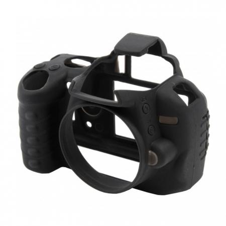 EasyCover Nikon D800/D800E - carcasa protectie cauciuc