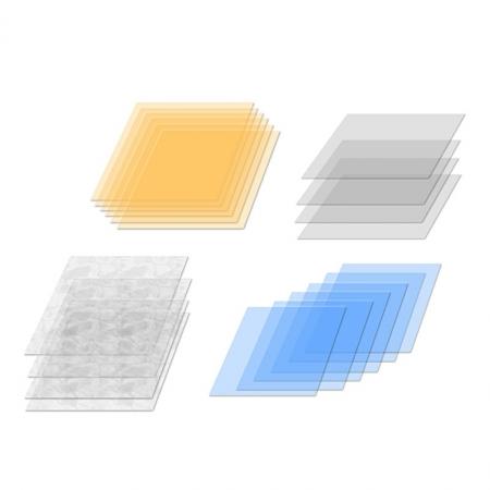 Elinchrom #26255 - set 20 filtre de corectie  21cm