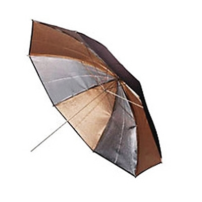 Elinchrom #26378 Gold/Silver Umbrella 105 cm
