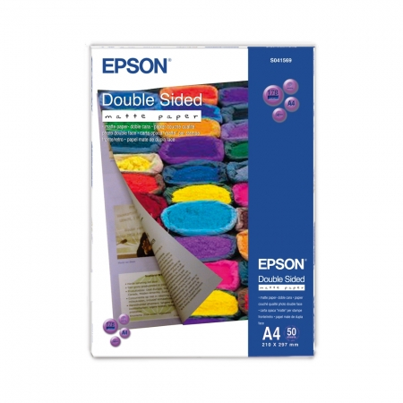 Epson Double-Sided hartie foto mata A4 - 50 coli - 178g/mp (S041569)