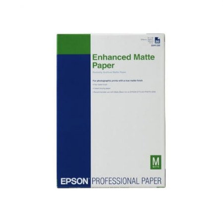 Epson Enhanced Matte hartie foto mata A3+ - 100 coli - 192g/mp (S041719)