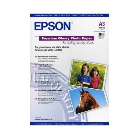 Epson Glossy Premium hartie foto lucioasa  A3 - 20 coli - 255g/mp - (S041315)