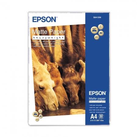Epson Heavy Weight hartie foto mata A4 - 50 coli - 167g/mp (S041256)