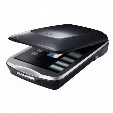 Epson Perfection V500 - scaner flatbed cu adaptor de transparenta