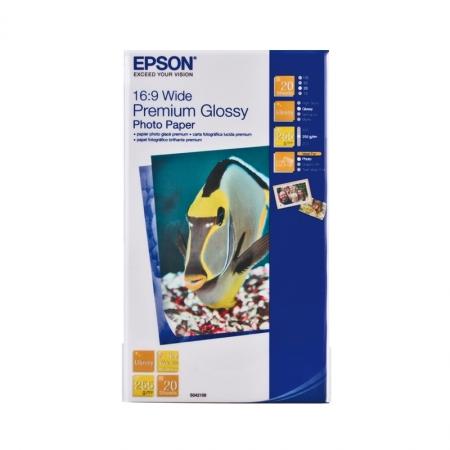 Epson Premium Glossy hartie foto 10x18 (16:9) - 20 coli - 255g/mp (S042109)
