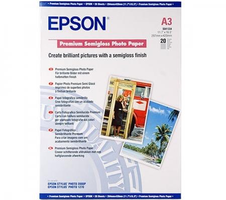 EPSON Premium Semigloss hartie foto A3 - 20coli - 251g/mp (S041334)