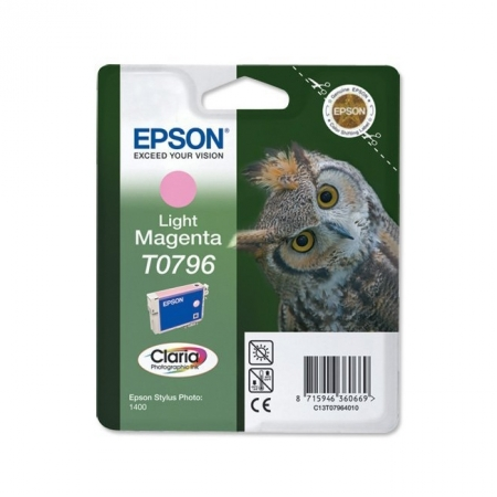 Epson T0796 - Cartus Imprimanta Light Magenta pentru Epson R1400 - 1500w