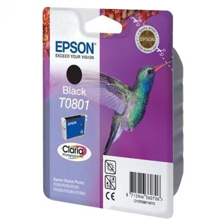 Epson T0801 - cartus Negru