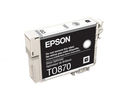Epson T0870 - Cartus Imprimanta Gloss Optimizer pentru Epson R1900
