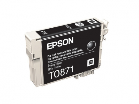 Epson T0871 - Cartus Imprimanta Photo Black pentru Epson R1900