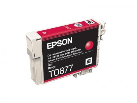 Epson T0877 - Cartus Imprimanta Red pentru Epson R1900