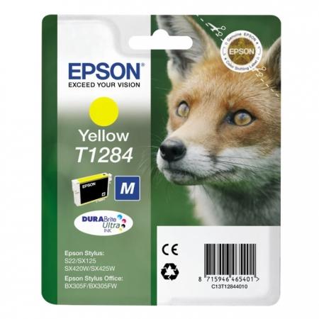 Epson T1284 - Cartus Imprimanta Yellow pentru Epson S22 / SX130