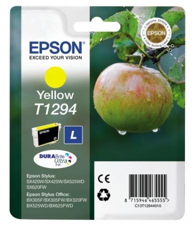 Epson T1294 - Cartus Imprimanta Yellow (large) - Epson SX425W/SX430W/SX440W
