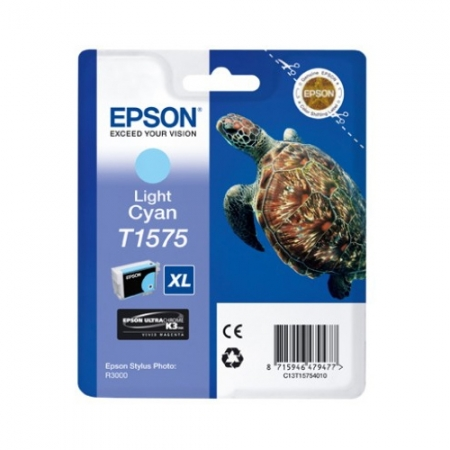 Epson T1575 - Cartus Imprimanta Photo Light Cyan pentru Epson R3000