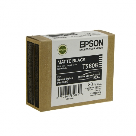 Epson T5808 - Cartus Imprimanta Photo Matte Black pentru Epson Stylus Pro 3800