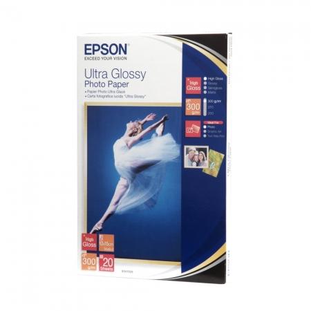 Epson Ultra Glossy hartie foto 10x15 - 20 coli - 300g/mp (S041926)