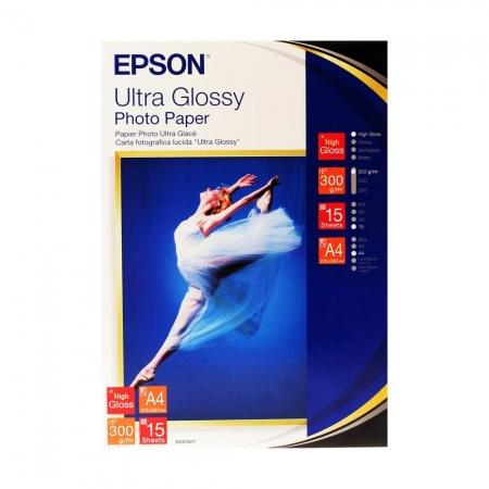 Epson Ultra Glossy hartie foto A4 - 15 coli - 300g/mp (S041927)