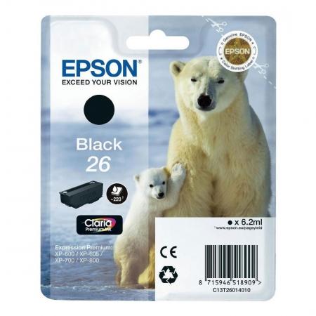 Epson XP Claria Premium - T2601 - cartus negru