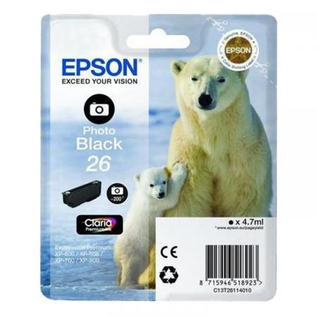 Epson XP Claria Premium - T2611 - cartus negru foto