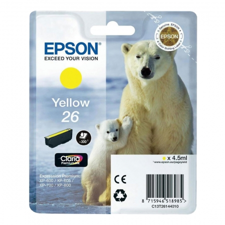 Epson XP Claria Premium - T2614 - cartus yellow