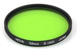 Filtru Hoya HMC Yellow-Green X0 72mm