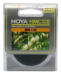Filtru Hoya NDx8 HMC 49mm