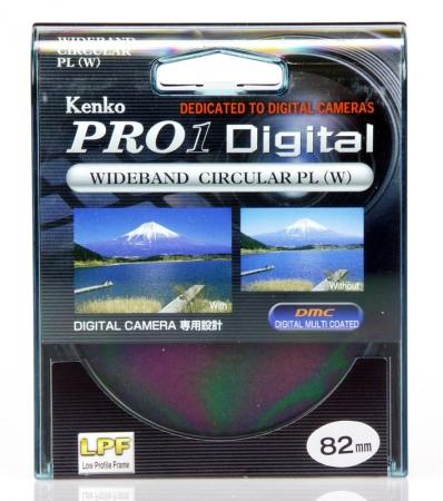 Filtru Kenko Polarizare Circulara PRO1 D 82mm