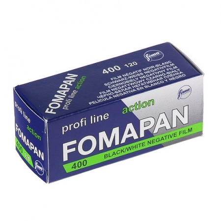 Foma Fomapan Action 400 - film negativ alb-negru lat (ISO 400, 120)