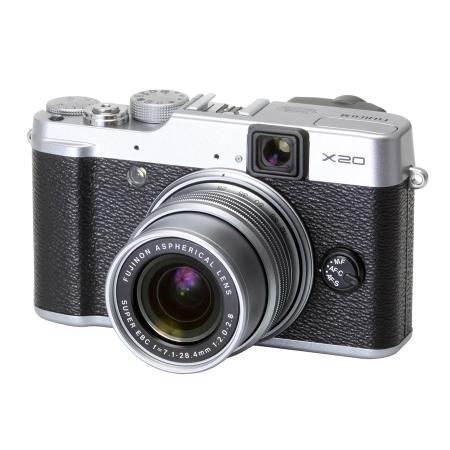 Fujifilm X20 argintiu