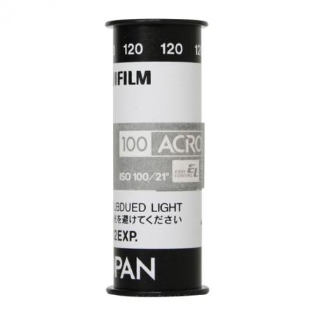 Fuji Neopan Acros 100 - film alb-negru negativ lat (ISO 100, 120)