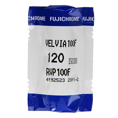 Fujifilm Fujichrome Velvia Professional 100F - film diapozitiv color lat (ISO 100, 120)