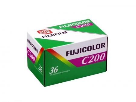 Fujifilm Fujicolor C200 - film negativ color ingust (ISO 200, 135-36)