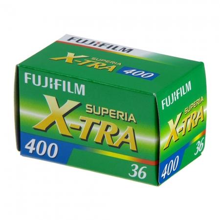 Fujifilm Fujicolor Superia X-TRA 400 - film color negativ (ISO 400, 36)