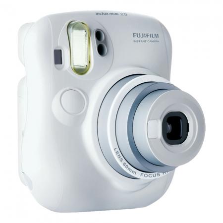 Fujifilm Instax Mini 25 alb - aparat pe film instant