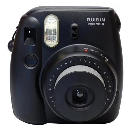 Fujifilm Instax Mini 8 negru - aparat foto instant