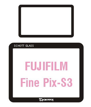 Giottos SP6203 Professional Glass Optic Screen Protector pentru Fuji FinePix-S3