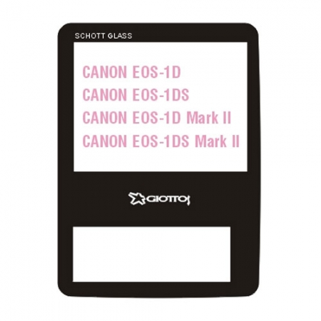 Giottos SP6204 Professional Glass Optic Screen Protector pentru Canon EOS seria 1D