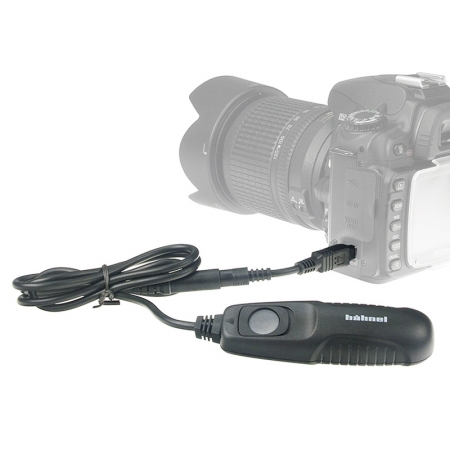 Hahnel HRN280 - declansator cu fir pentru DSLR Nikon