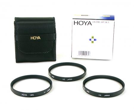 Hoya Set 3 lentile macro (close up)  HMC 49mm ( +1, +2, +4 )